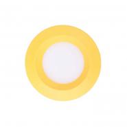 Светильник светодиодный Feron 3W круг, желтый 240Lm 5000K 90*26mm d75mm