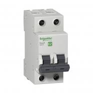 Автоматический выключатель EZ9  2Р 6А, С  Schneider Electric