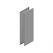 Монтажная панель 500х490 (оцинк), на уголки для КСРМ(2 шт)
