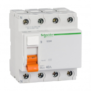 Дифференциальное  реле ВД 63 4п 40А 30мА Schneider Electric 11463