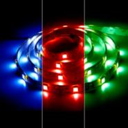 Светодиодная лента Feron LS606/LED-RL 60SMD(5050)/m 14.4W/m 12V 5m*10*0.22mm RGB на белом основании