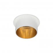 Светильник точечный  Feron DL6005  MR16/G5.3  алюминиевый  белый+золото