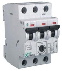 Автоматический выключатель защиты двигателя Z-MS 16.0/3 (10-16А) MOELLER - 1