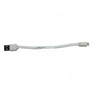 Шнур для Power Bank USB MICRO 19см v8
