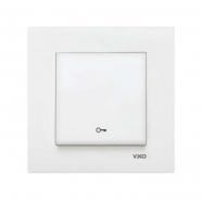 Кнопка  автоматического дверного замка белый VIKO Серия KARRE