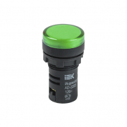 Светосигнальный индикатор IEK AD22DS (LED) матрица d22мм зеленый 24В AC/DC