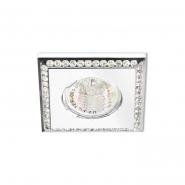 Светильник точечный Feron DL102-W прозрачный/белый