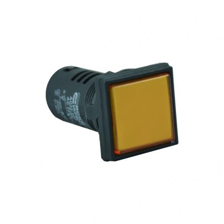 Сигнальная арматура АСКО-УКРЕМ AD22-22F АС 220В Желтая - 1