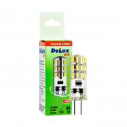 Лампа  LED  DELUX G4E 1.5Вт 3000K 12B G4