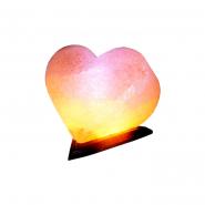 Светильник соляной Сердце 5 цветов