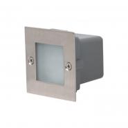 Светильник встраиваемый уличный SMD Led HL951L 0.9Вт белый ІР54 70*70мм 57LmHoroz