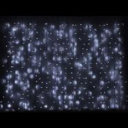 Гирлянда внешняя CURTAIN 2x1,5м 456LED бел/черный IP44