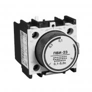 Приставка IEK  ПВИ-23 задержка при откл 0,1-3сек. 1з+1р