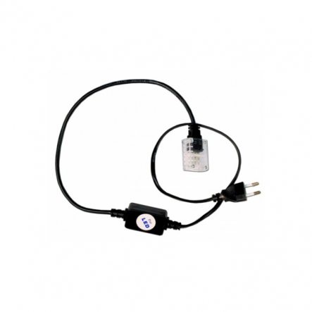Вилка+кабель 4-х пол. акс.дюролайт LED - 1