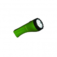 Фонарь зеленый 7LED 4V 900MAH BUKO