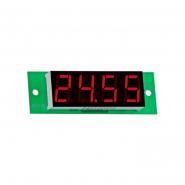 Вольтметр цифровой   ВМ-19/2 (0,0....27,99В), питание 7-15В, DC без корпуса V-protektor