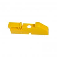 Изолятор DIN желтый  (120штук)ИЭК