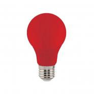 Лампа LED 3W E27 красная 10/100 HOROZ