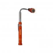 Фонарик STURM телескопический с магнитом оранжевый