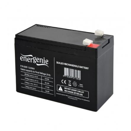 Аккумуляторная батарея EnerGenie BAT-12V9AH 12B 9Ач - 1