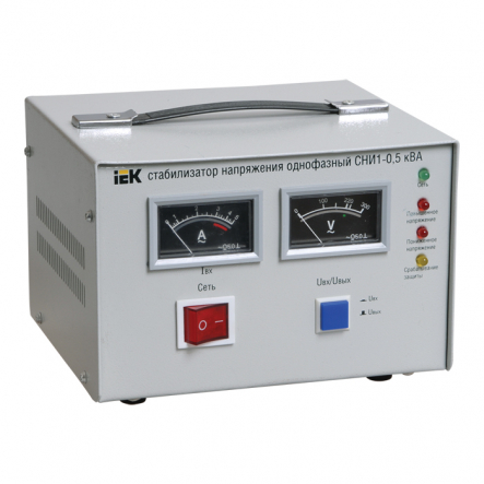 Стабилизатор напряжения СНИ1- 0,5 кВА - 1