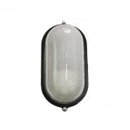 Светильник влагостойкий MIF 020 100W овал черный без решетки