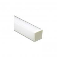 Профиль накладной квадратный угловой серебро Feron