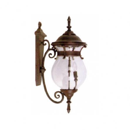 Светильник садово - парковый Palace 1076В 3*60W E14 старое золото - 1