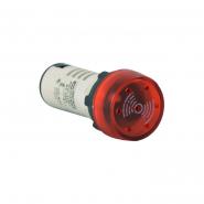 Зумер мигающий АСКО-УКРЕМ AD22-22 BM/r 220В АС Красный