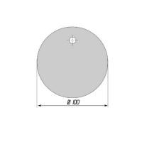 Бирка пластмассовая маркировочная У152 - 1