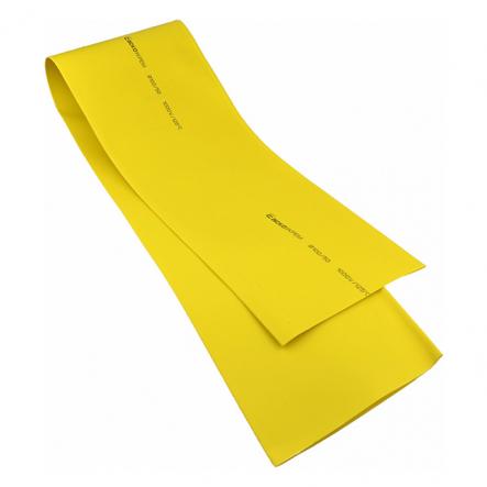 Трубка термоусажеваемая ТУТ 100/50 желтая ACKO - 1