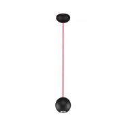 Подвес BUBBLE BLACK - RED GU10 35W