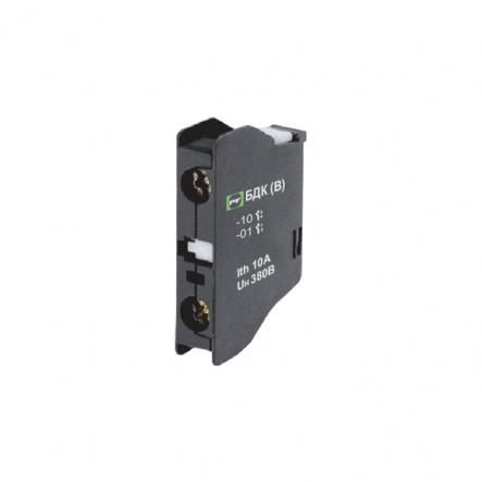 Блок дополнительных контактов Промфактор БДК-14В-01 (1НЗ) для ПММ1-4 - 1