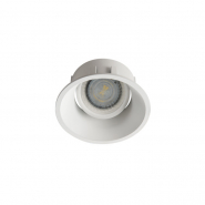 Светильник точечный Kanlux 26736   IVRI DTO-W без патрона белый
