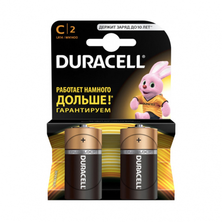 Батарейка Duracell Basic 1.5V C/LR14 MN1400 - 1