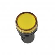 Светосигнальный индикатор IEK AD16DS (LED) матрица d16мм желтый 230В AC