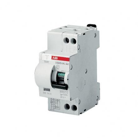 Дифференциальный автомат DS951C20-30MA/AC ABB - 1