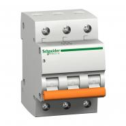 Автоматический выключатель Schneider Electric  ВА 63 3п 40А  11227