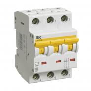 Автоматический выключатель IEK ВА47-60 3p 25A С