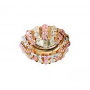 Светильник точечный  Feron MR-16 CD2121 50W прозрачный розовый золото
