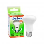 Лампа LED 8 Вт R63 4100K 220В E27 DELUX