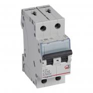 Автоматический выключатель Legrand TX3 10А 2Р 6кА тип С 404040
