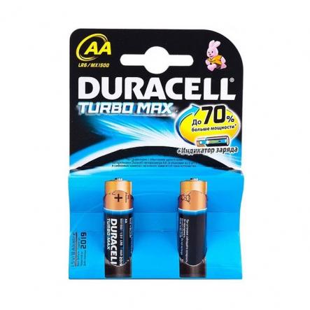 Батарейка Duracell turboMax AA 1.5 LR06 MX1500 - 1