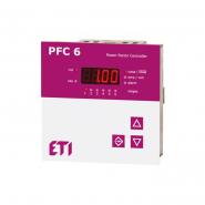 Регулятор реактивной мощности ETI 6 ступеней, 97х97, PFC-6RS 4656905
