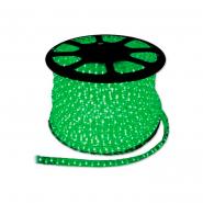 Дюралайт  LED 3WAY 11,5х17,5мм зеленый (72 led/m) квадратный светодиодный