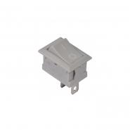 Перемикач 1 клав. KCD1-101Grey/Grey  АСКО