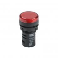 Светосигнальный индикатор IEK AD22DS (LED) матрица d22мм красный 12В AC/DC
