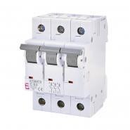 Автоматический выключатель ETI 6 S-193 C 63A  3p 2145522