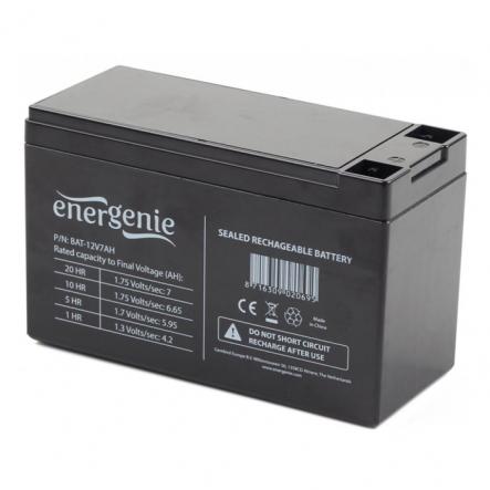 Аккумуляторная батарея EnerGenie BAT-12V7AH 12B 7Ач - 1