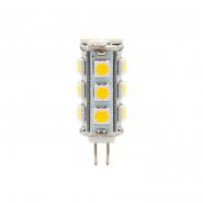 Лампа светодиодная LB-403 JC 18LEDs 12V 3W 2700K G4 Feron